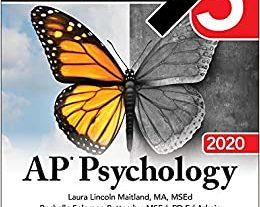 21978*UNUSED* AP Psychology 5 Steps to a 5 Review Book 2019 Edition