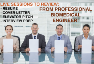 51213Resume/Interview Prep by Professional Biomedical Engineer